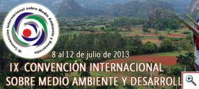 Logo de la IX Convención Internacional Sobre Medio Ambiente