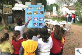 Taller de educación ambiental en las escuelas