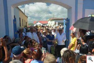fitcuba 2017 caluroso recibimiento pueblo gibara.