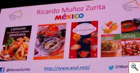 Ricardo Muñoz Zurita invitado especial del Berlin Food Week 2016 y autor de muchos libros de cocina mexicana