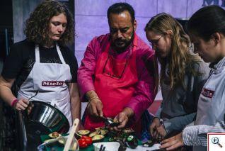 Taller de cocina mexicana con el chef Ricardo Muñoz Zurita. Foto cortesía Berlin Food Week